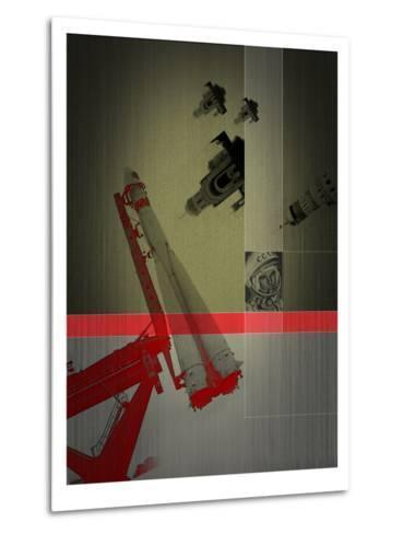 Yuri Gagarin-NaxArt-Metal Print