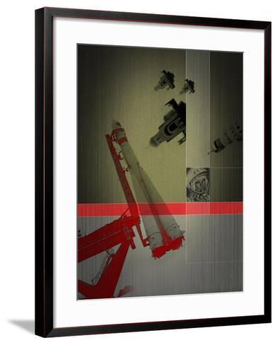 Yuri Gagarin-NaxArt-Framed Art Print