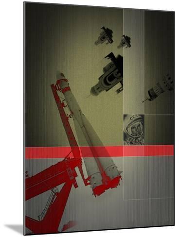 Yuri Gagarin-NaxArt-Mounted Art Print