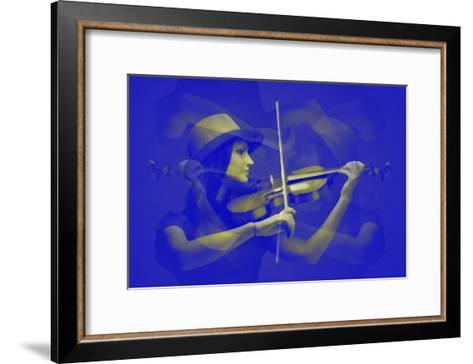 Violinist-NaxArt-Framed Art Print