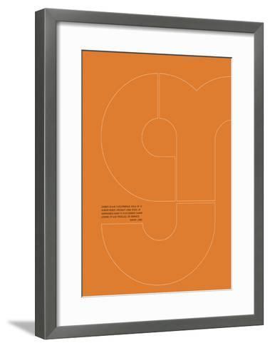 Steve Jobs Poster 1-NaxArt-Framed Art Print