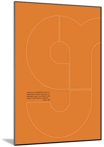Steve Jobs Poster 1-NaxArt-Mounted Art Print