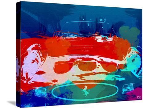 Ferrari 250 Gto Watercolor-NaxArt-Stretched Canvas Print