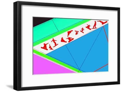 Flying Boards-NaxArt-Framed Art Print