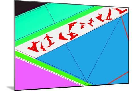 Flying Boards-NaxArt-Mounted Art Print