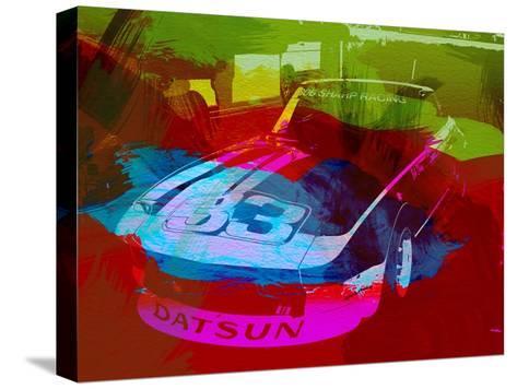 Datsun-NaxArt-Stretched Canvas Print
