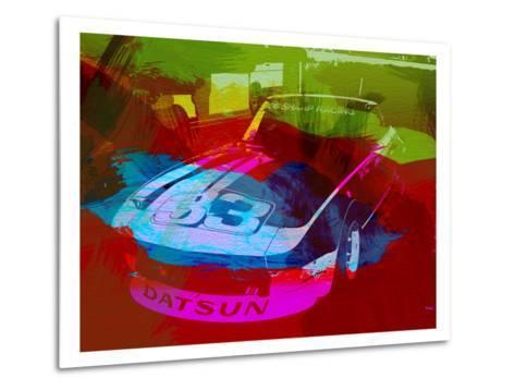 Datsun-NaxArt-Metal Print