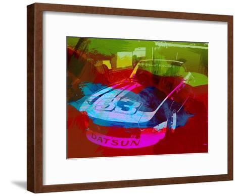 Datsun-NaxArt-Framed Art Print