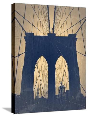 Brooklyn Bridge-NaxArt-Stretched Canvas Print