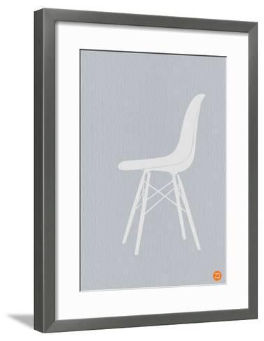 Eames White Chair-NaxArt-Framed Art Print