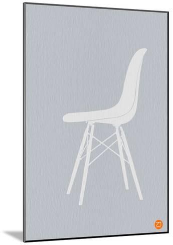 Eames White Chair-NaxArt-Mounted Art Print