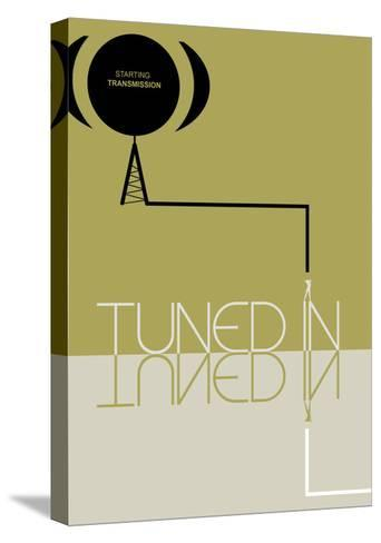 Tuned In-NaxArt-Stretched Canvas Print