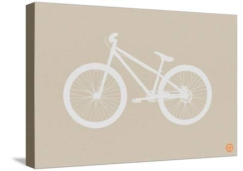 Bicycle Brown Poster-NaxArt-Stretched Canvas Print