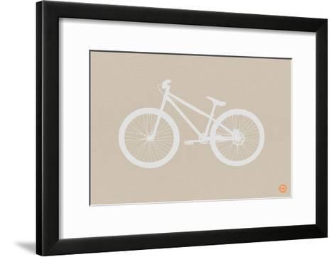 Bicycle Brown Poster-NaxArt-Framed Art Print