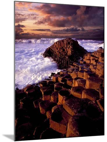 Giant's Causeway in Northern Ireland-Chris Hill-Mounted Photographic Print