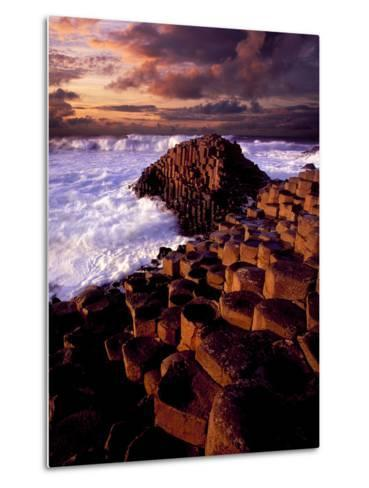 Giant's Causeway in Northern Ireland-Chris Hill-Metal Print