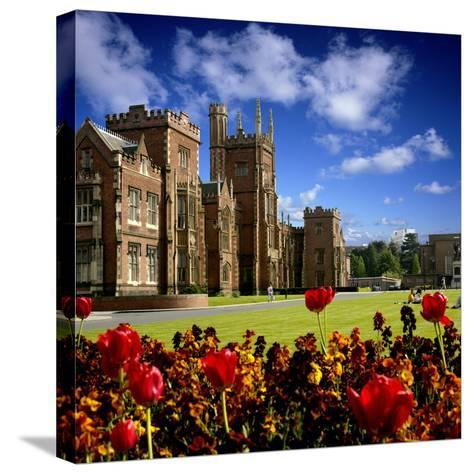 Queen's University in Belfast-Chris Hill-Stretched Canvas Print