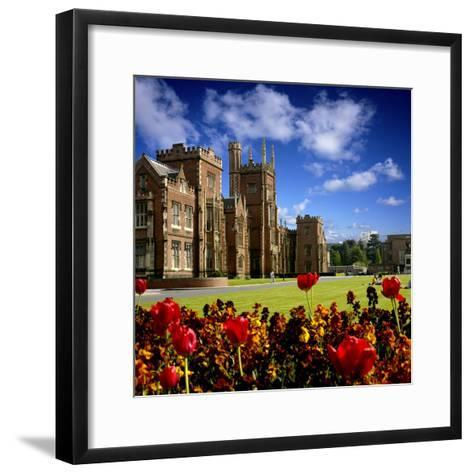 Queen's University in Belfast-Chris Hill-Framed Art Print