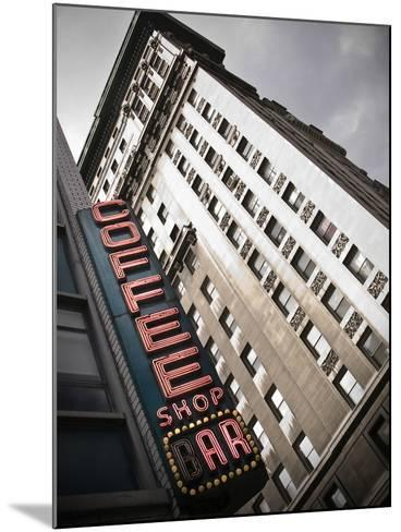 The Coffee Shop Bar at Union Square in New York City-Keith Barraclough-Mounted Photographic Print