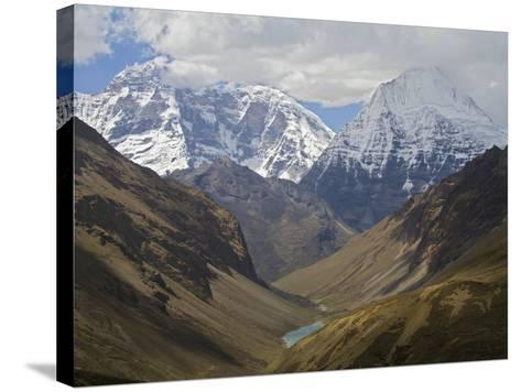 A View of the Himalaya Mountains Along the Chomolhari Trek-Jed Weingarten/National Geographic My Shot-Stretched Canvas Print