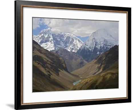 A View of the Himalaya Mountains Along the Chomolhari Trek-Jed Weingarten/National Geographic My Shot-Framed Art Print
