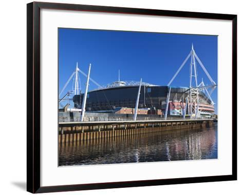 Millennium Stadium, Cardiff, South Wales, Wales, United Kingdom, Europe-Billy Stock-Framed Art Print