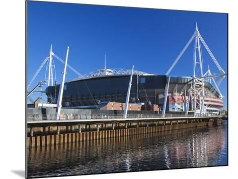 Millennium Stadium, Cardiff, South Wales, Wales, United Kingdom, Europe-Billy Stock-Mounted Photographic Print