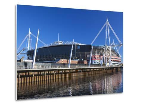 Millennium Stadium, Cardiff, South Wales, Wales, United Kingdom, Europe-Billy Stock-Metal Print
