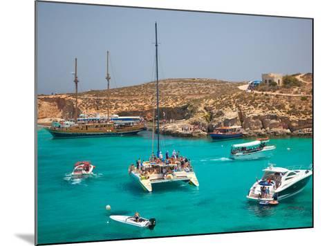 Blue Lagoon, Comino, Malta, Mediterranean, Europe-Billy Stock-Mounted Photographic Print