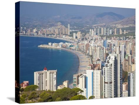 Benidorm, Alicante Province, Spain, Mediterranean, Europe-Billy Stock-Stretched Canvas Print