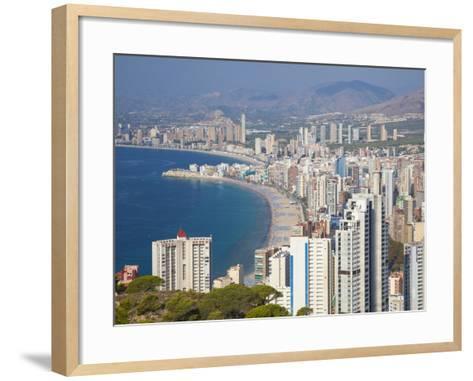 Benidorm, Alicante Province, Spain, Mediterranean, Europe-Billy Stock-Framed Art Print