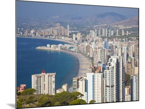 Benidorm, Alicante Province, Spain, Mediterranean, Europe-Billy Stock-Mounted Photographic Print