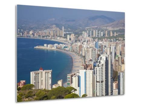 Benidorm, Alicante Province, Spain, Mediterranean, Europe-Billy Stock-Metal Print