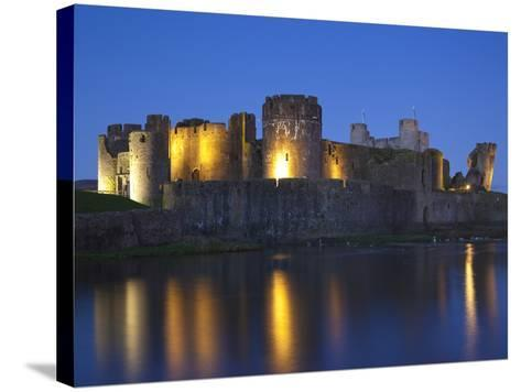 Caerphilly Castle, Mid Glamorgan, Wales, United Kingdom, Europe-Billy Stock-Stretched Canvas Print