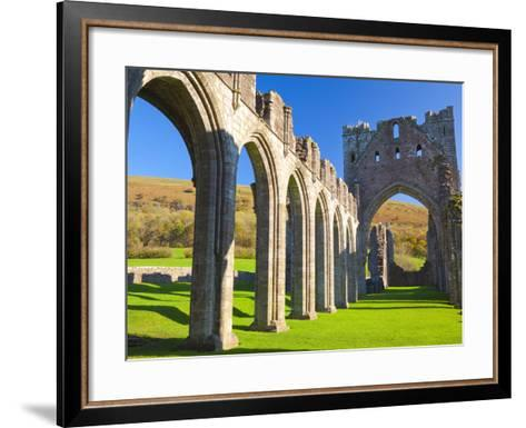 Llanthony Priory, Brecon Beacons, Wales, United Kingdom, Europe-Billy Stock-Framed Art Print