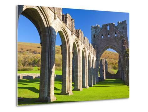 Llanthony Priory, Brecon Beacons, Wales, United Kingdom, Europe-Billy Stock-Metal Print