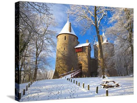 Castell Coch, Tongwynlais, Cardiff, South Wales, Wales, United Kingdom, Europe-Billy Stock-Stretched Canvas Print