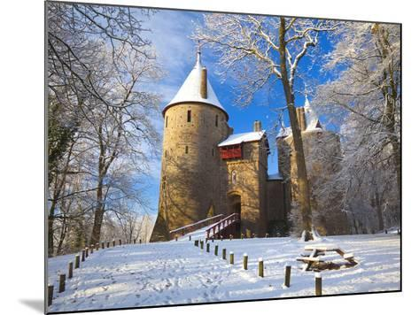 Castell Coch, Tongwynlais, Cardiff, South Wales, Wales, United Kingdom, Europe-Billy Stock-Mounted Photographic Print