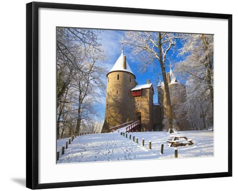 Castell Coch, Tongwynlais, Cardiff, South Wales, Wales, United Kingdom, Europe-Billy Stock-Framed Art Print