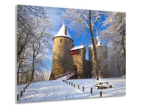 Castell Coch, Tongwynlais, Cardiff, South Wales, Wales, United Kingdom, Europe-Billy Stock-Metal Print