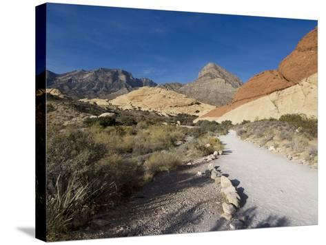 Red Rock National Conservation Area, Las Vegas, Nevada, United States of America, North America-Ethel Davies-Stretched Canvas Print