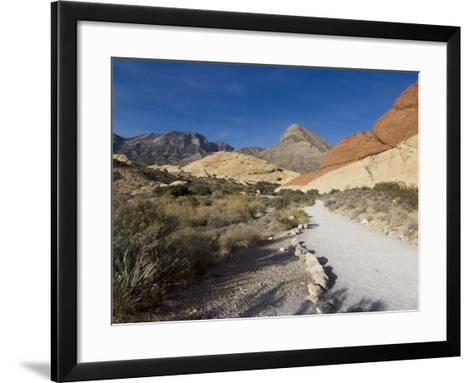 Red Rock National Conservation Area, Las Vegas, Nevada, United States of America, North America-Ethel Davies-Framed Art Print