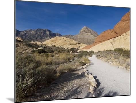 Red Rock National Conservation Area, Las Vegas, Nevada, United States of America, North America-Ethel Davies-Mounted Photographic Print