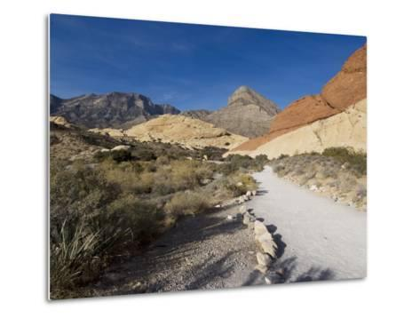 Red Rock National Conservation Area, Las Vegas, Nevada, United States of America, North America-Ethel Davies-Metal Print
