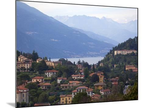 Town of Bellagio and Mountains, Lake Como, Lombardy, Italian Lakes, Italy, Europe-Frank Fell-Mounted Photographic Print