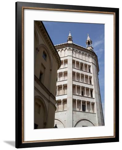 The Baptistry, Parma, Emilia Romagna, Italy, Europe-Frank Fell-Framed Art Print