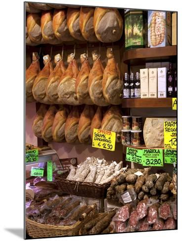 Butchers Shop, Parma, Emilia-Romagna, Italy, Europe-Frank Fell-Mounted Photographic Print