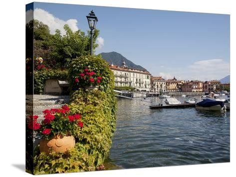 Town and Lakeside, Menaggio, Lake Como, Lombardy, Italian Lakes, Italy, Europe-Frank Fell-Stretched Canvas Print