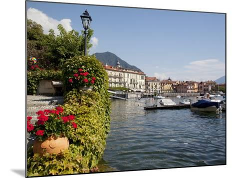 Town and Lakeside, Menaggio, Lake Como, Lombardy, Italian Lakes, Italy, Europe-Frank Fell-Mounted Photographic Print