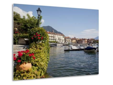 Town and Lakeside, Menaggio, Lake Como, Lombardy, Italian Lakes, Italy, Europe-Frank Fell-Metal Print